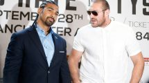 David Haye on Tyson Fury