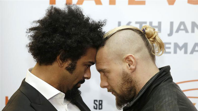 David Haye-Tony Bellew press conference