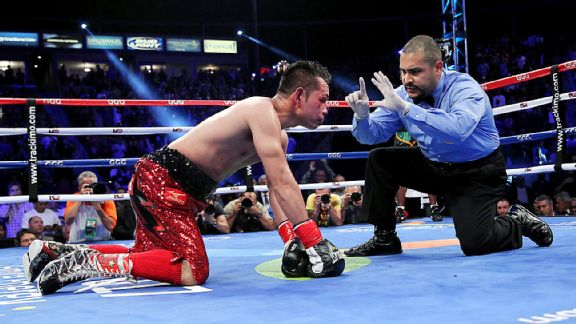 Boxing Results Nonito Donaire Battered To Defeat By Nicholas Walters In Six Rounds Boxing News