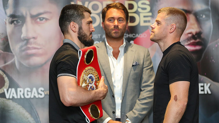 Artur Beterbiev vs Callum Johnson