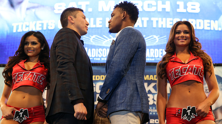 Gennady Golovkin and Danny Jacobs