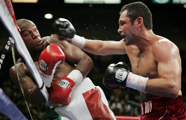 What are the highest grossing pay-per-view boxing bouts?