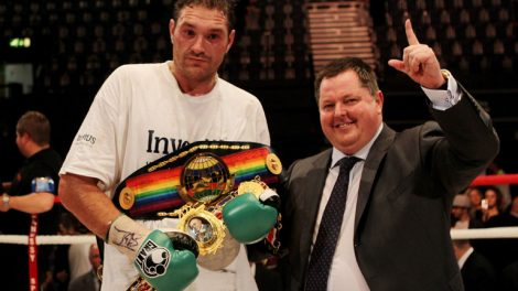 Tyson Fury and Mick Hennessy