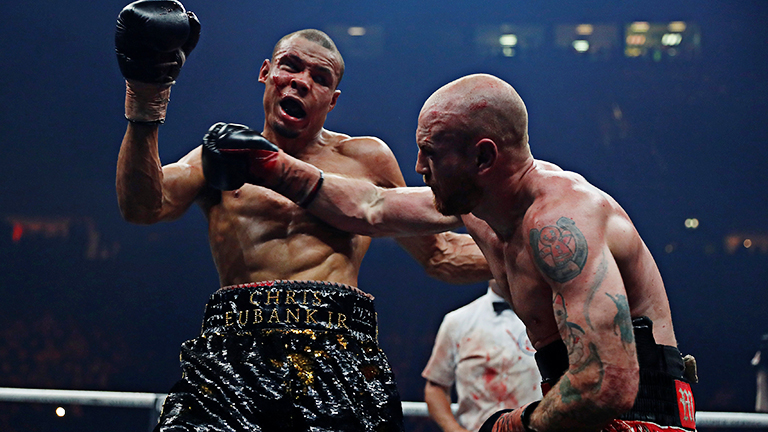george groves beats chris eubank