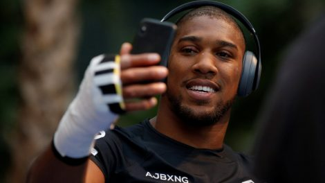 Anthony Joshua in New York