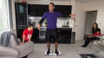 James DeGale at home