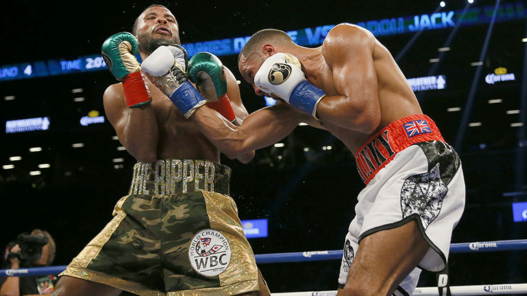 James DeGale vs Badou Jack