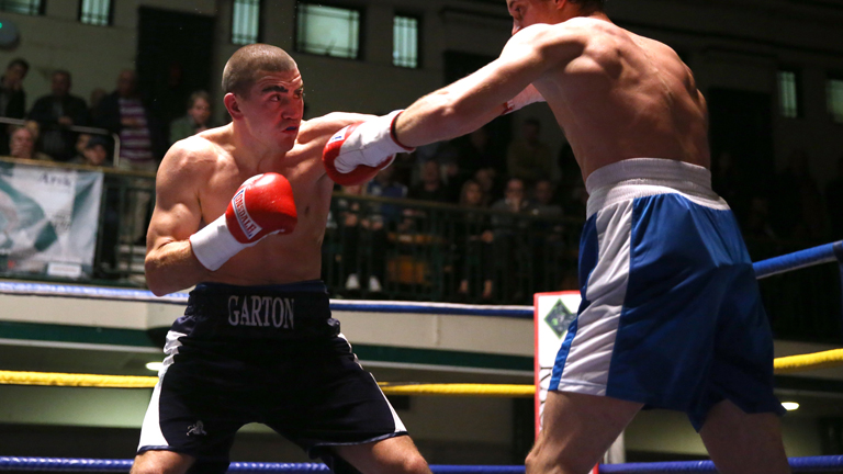 Johnny Garton wants the English title