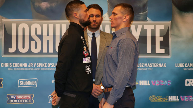 Joshua Whyte undercard odds