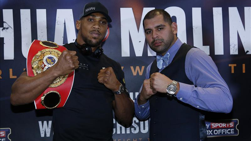 Anthony Joshua vs Eric Molina