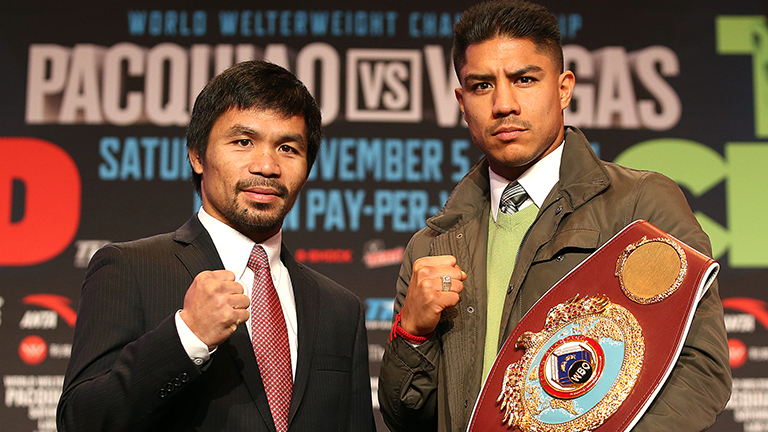 Manny Pacquiao fight time