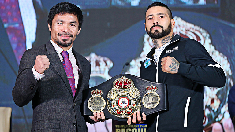 Manny Pacquiao vs Lucas Matthysse fight time