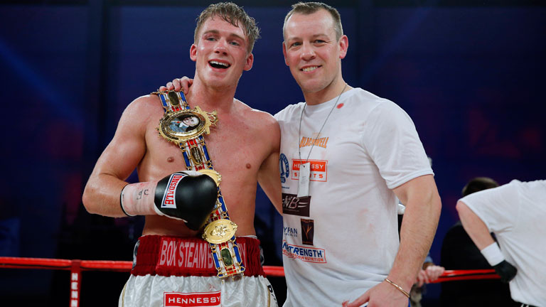 Nick Blackwell with Gary Lockett