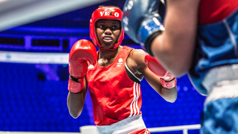 Women's World Championships final Nicola Adams