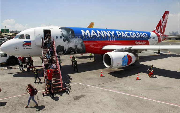 Manny Pacquiao's jet