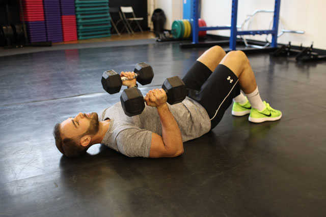 Strength and Conditioning prone press