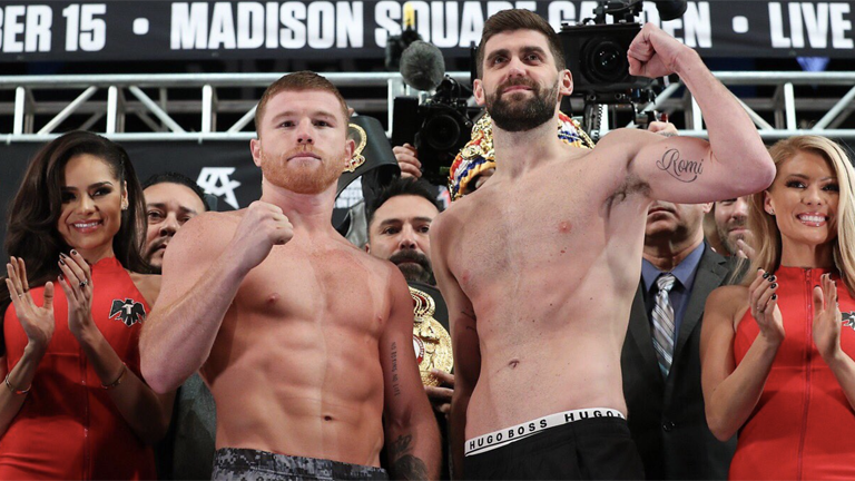 Canelo Alvarez vs Rocky Fielding fight time