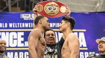 Errol Spence vs Mikey Garcia