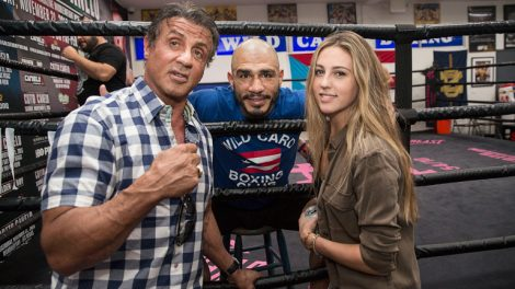 Miguel Cotto & Sylvester Stallone