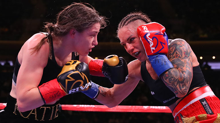 Boxing results: Katie Taylor sees off Wahlstrom in New York