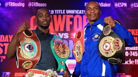 Terence Crawford vs Julius Indongo fight time