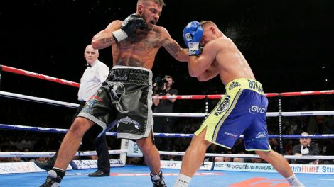 Tyler Goodjohn against Ricky Boylan