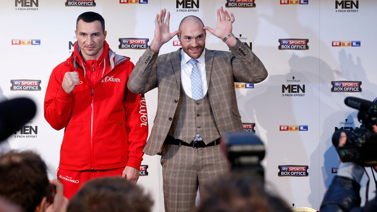 Tyson Fury vs Wladimir Klitschko rematch