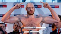 Tyson Fury weigh-in
