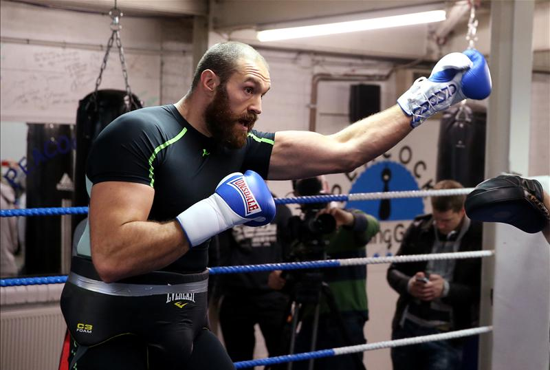 Inside Tyson Fury's training camp, Part II - Boxing News