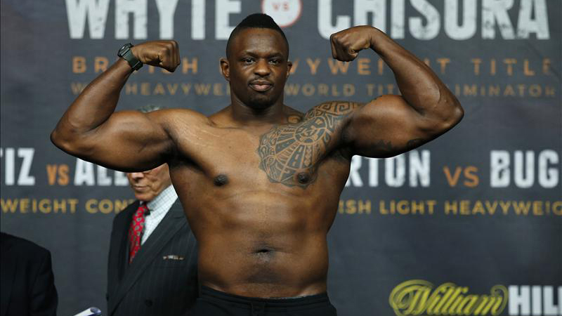 Dillian Whyte vs Lucas Brown
