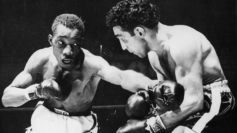 Willie Pep vs Sandy Saddler
