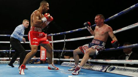 boxing results