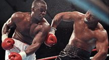 mike tyson vs james buster douglas