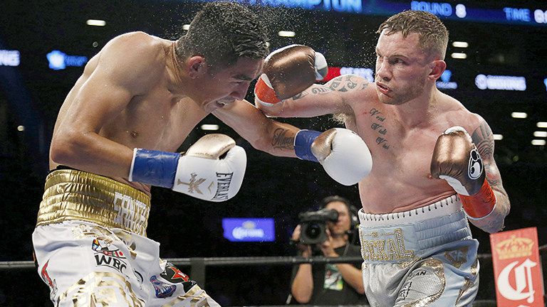 Carl Frampton vs Leo Santa Cruz
