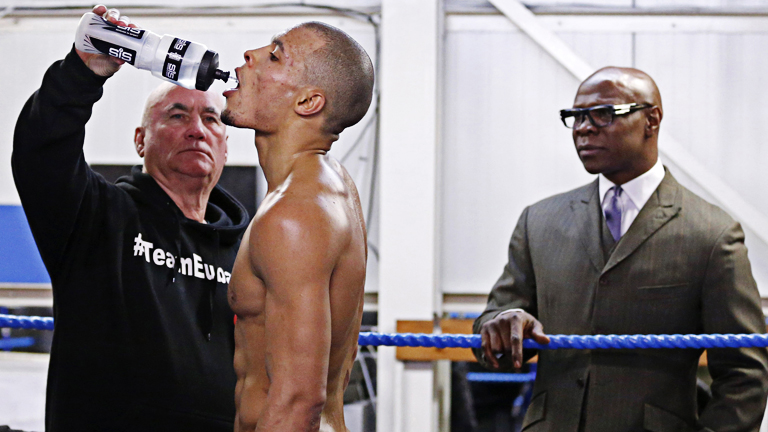 Chris Eubank Jr's trainer
