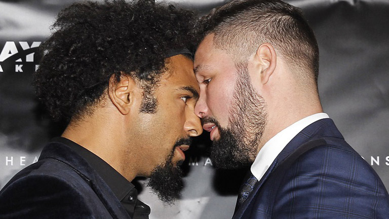 david haye and tony bellew