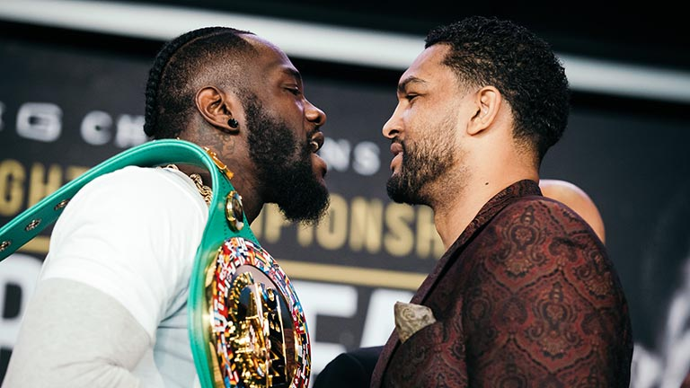 Deontay Wilder vs Dominic Breazeale