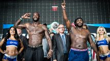 Deontay Wilder vs Bermane Stiverne fight