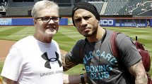 Miguel Cotto and Freddie Roach