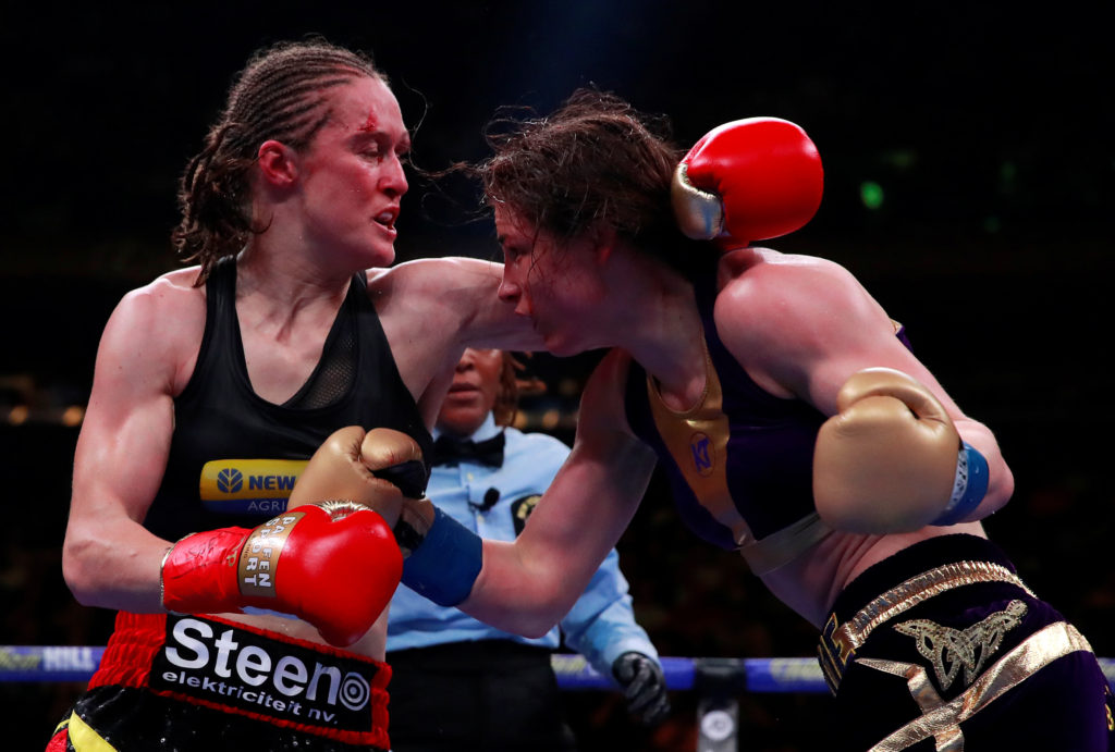 Katie Taylor v Delfine Persoon - WBA, WBO, IBF, WBC & Ring Magazine Womens World Lightweight Titles