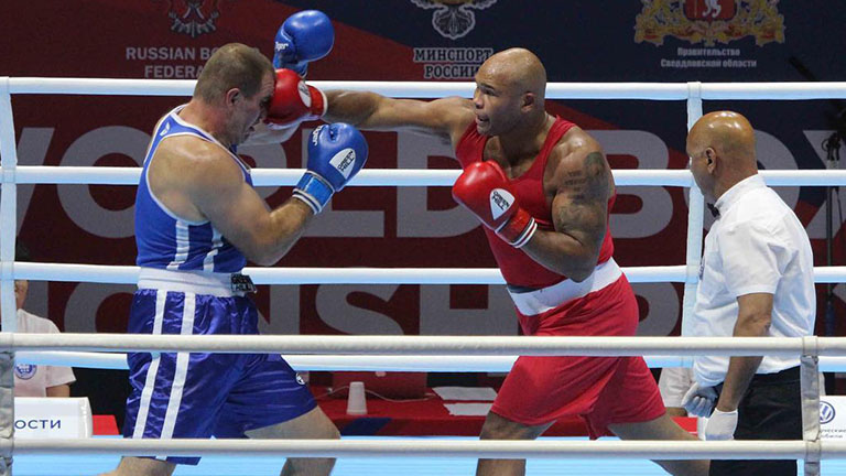 Frazer Clarke Olympic boxing rankings