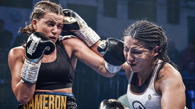 Chantelle Cameron appears ready to take on the world - Boxing News