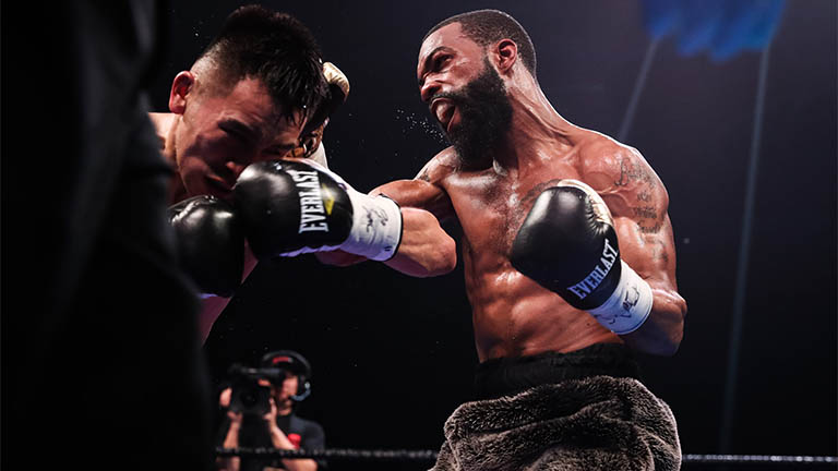 Gary Russell featherweight