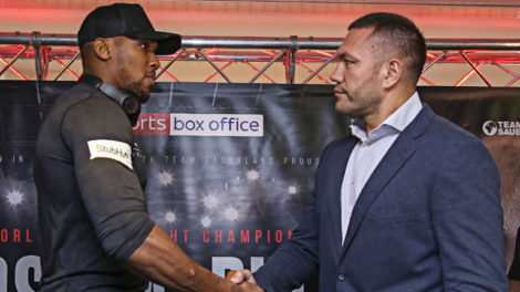 Joshua vs Pulev heavyweight