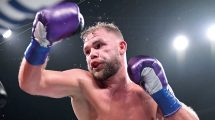 super-middleweight Billy Joe Saunders