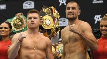 Canelo Alvarez v Sergey Kovalev light-heavyweight