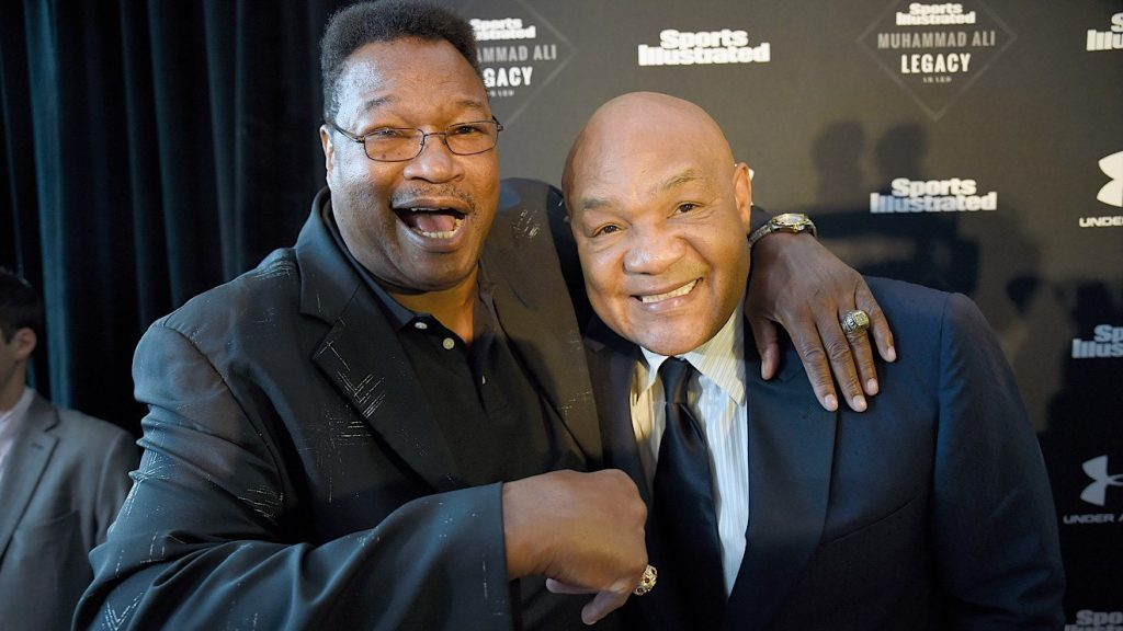 Larry Holmes & George Foreman