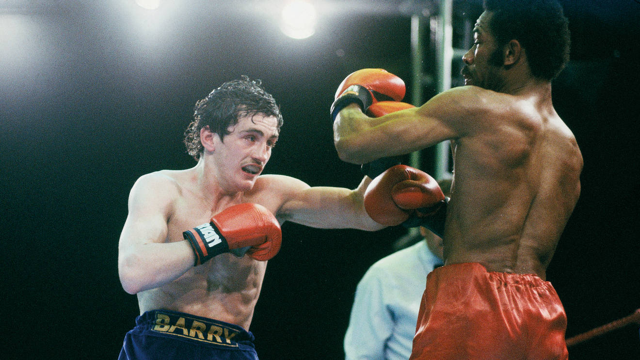 greatest British fights Barry McGuigan