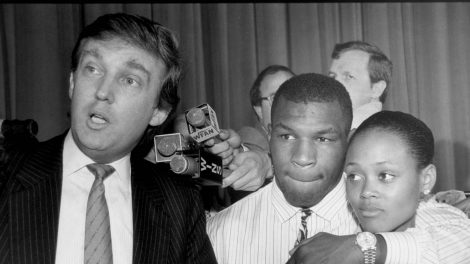Mike Tyson & Donald Trump
