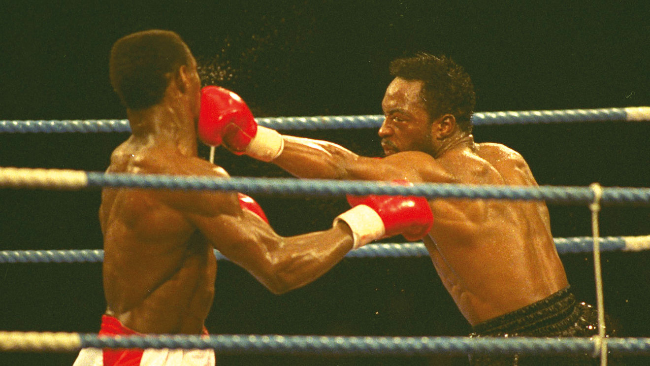 British boxing history Nigel Benn